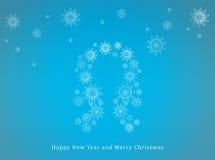 Nuovo anno felice e Buon Natale Fotografia Stock
