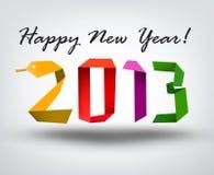 Nuovo anno felice e natale Immagine Stock