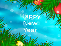 Nuovo anno felice Priorità bassa di natale Fotografia Stock Libera da Diritti