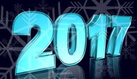Nuovo anno, illustrazione Immagine Stock