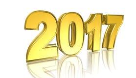 Nuovo anno, illustrazione Fotografia Stock