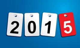Nuovo anno 2015, invito, divertimento del mondo Fotografia Stock
