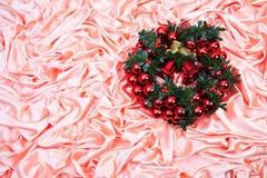Nuovo anno, natale, decorazione, ghirlanda Fotografie Stock