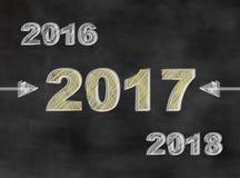Nuovo anno, nuova idea Fotografia Stock