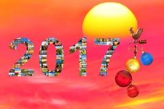 Nuovo anno - nuovo viaggio Fotografie Stock