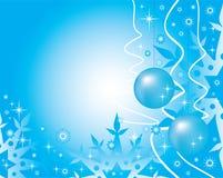 Nuovo-anno postale illustrazione vettoriale