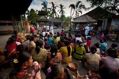 Nuovo anno su Bali, l'Indonesia Fotografia Stock Libera da Diritti