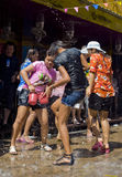 Nuovo anno tailandese Fotografia Stock Libera da Diritti