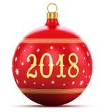 Nuovo anno un concetto di 2018 feste Immagine Stock