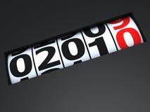 Nuovo anno venente Fotografie Stock Libere da Diritti