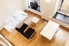 Nuovo appartamento interno Immagini Stock