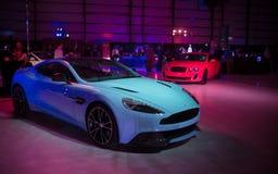 Nuovo Aston Martin sgomina Fotografia Stock Libera da Diritti