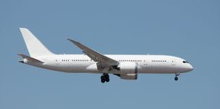 Nuovo atterraggio del jet Immagine Stock