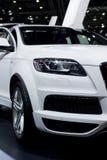 Nuovo Audi Q7, quattro di SUV Fotografia Stock Libera da Diritti