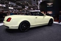 Nuovo Bentley Supersports continentale Immagine Stock Libera da Diritti