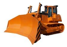 Nuovo bulldozer arancione Fotografia Stock Libera da Diritti