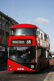 Nuovo bus per Londra Immagine Stock Libera da Diritti