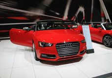 Nuovo cabrio tedesco all'esposizione automatica Immagine Stock Libera da Diritti