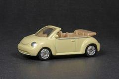 Nuovo Cabriolet dello scarabeo di Volkswagen Fotografia Stock Libera da Diritti