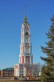 Nuovo campanile del monastero di Kazan Immagini Stock