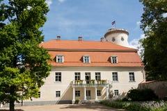 Nuovo castello di Cesis immagine stock libera da diritti