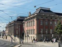 Nuovo castello di Potsdam Fotografia Stock