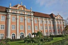 Nuovo castello Germania di Meersburg immagine stock