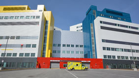 Nuovo centro sanitario dell'università McGill Fotografia Stock Libera da Diritti