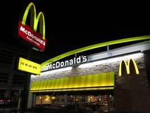 Nuovo cerchi McDonald's Fotografia Stock