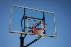 Nuovo cerchio di pallacanestro immagini stock libere da diritti