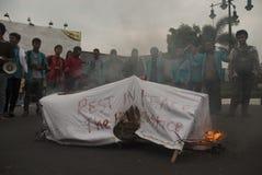 NUOVO COMBUSTIBILE DELL'INDONESIA Fotografia Stock Libera da Diritti