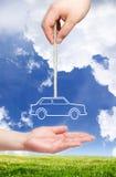Nuovo concetto dell'automobile. Immagine Stock Libera da Diritti