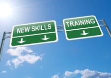 Nuovo concetto di abilità. Immagini Stock Libere da Diritti