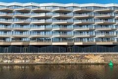 Nuovo condominio moderno a Berlino Fotografia Stock Libera da Diritti