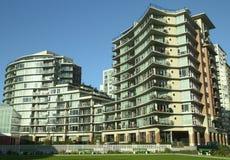 Nuovo condominio Victoria BC Fotografia Stock Libera da Diritti