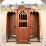 Nuovo confessionary Fotografie Stock
