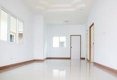 Nuovo corridoio bianco domestico Immagine Stock Libera da Diritti