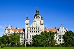 Nuovo corridoio di città a Leipzig Immagini Stock Libere da Diritti