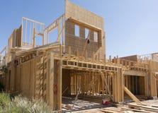 Nuovo in costruzione domestico Immagini Stock Libere da Diritti