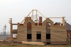 Nuovo cottage della Camera Immagini Stock Libere da Diritti