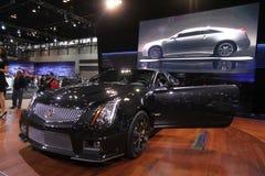 Nuovo coupé del Cadillac CTS-V Fotografia Stock Libera da Diritti