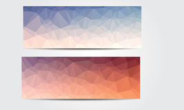 Nuovo Crystal Banner Immagine Stock Libera da Diritti