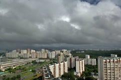 Nuovo distretto di Mosca Immagini Stock Libere da Diritti