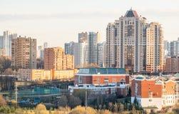 Nuovo distretto residental a Mosca Immagini Stock
