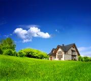 Nuovo domicilio privato Fotografie Stock