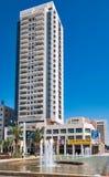 Nuovo edificio residenziale a Be'er Sheva, Israele Fotografie Stock