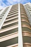 Nuovo edificio residenziale multi-storey Fotografia Stock