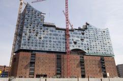 Nuovo Elbephilharmonie a Amburgo Fotografie Stock