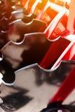Nuovo erpice di disco del trattore Immagine Stock Libera da Diritti
