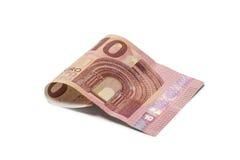 Nuovo 10 euro Bill Fotografie Stock